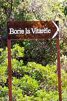 Domaine Borie la Vitarèle Causses et Veyran St Chinian. Languedoc. France. Europe.