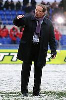 """Jacques Brunel allenatore dell'Italia.Roma 11/20/2012 Stadio """"Olimpico"""".Rugby 6 Nations Tournament - Torneo delle 6 Nazioni 2012.Italia Vs Inghilterra - Italy Vs England .Foto Insidefoto Andrea Staccioli"""
