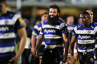 Aviva Premiership match, between Bath Rugby and London Irish on April 24, 2015 at the Recreation Ground in Bath, England. Photo by: Patrick Khachfe / Onside Images