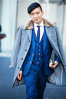 Bryanboy attends Day 7 of New York Fashion Week on Feb 18, 2015 (Photo by Hunter Abrams/Guest of a Guest)