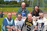 2253-2256.MASTERS: Taking part in the Munster Masters and Juvenile Track and Field Championships in Castleisland last Sunday were Martin Fitzpatrick (St Marys AC), Patsy OConnor (Tralee Harriers), Martin McDonough (Tralee Harriers), Eddie Mulcahy (Farranfore-Maine Valley AC), Eoin Leen (Tralee Harriers) and James OHare (Limerick)...
