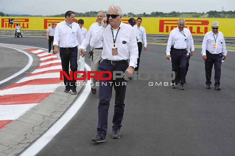 Charlie Whiting (GBR), FIA Safty delegate, Race director &amp; offical starter <br />  Foto &copy; nph / Mathis