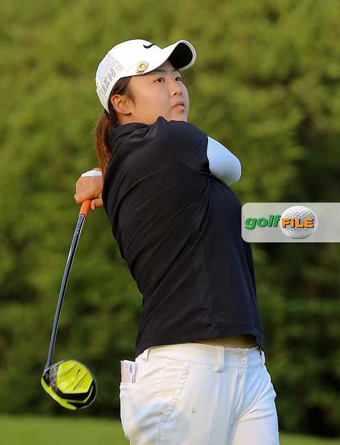 23 JUL 15 Simin Feng during Thursday's First Round of The Meijer LPGA Classic at The Blythefield Country Club in Belmont, Michigan. (photo credit : kenneth e. dennis/kendennisphoto.com)
