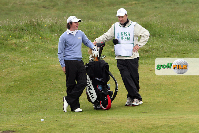 Rory McElroy, day 1 of the Irish Open in Co.Louth Golf Club,  Baltray...Photo NEWSFILE/Jenny Matthews.(Photo credit should read Jenny Matthews/NEWSFILE)....This Picture has been sent you under the condtions enclosed by:.Newsfile Ltd..The Studio,.Millmount Abbey,.Drogheda,.Co Meath..Ireland..Tel: +353(0)41-9871240.Fax: +353(0)41-9871260.GSM: +353(0)86-2500958.email: pictures@newsfile.ie.www.newsfile.ie.FTP: 193.120.102.198.