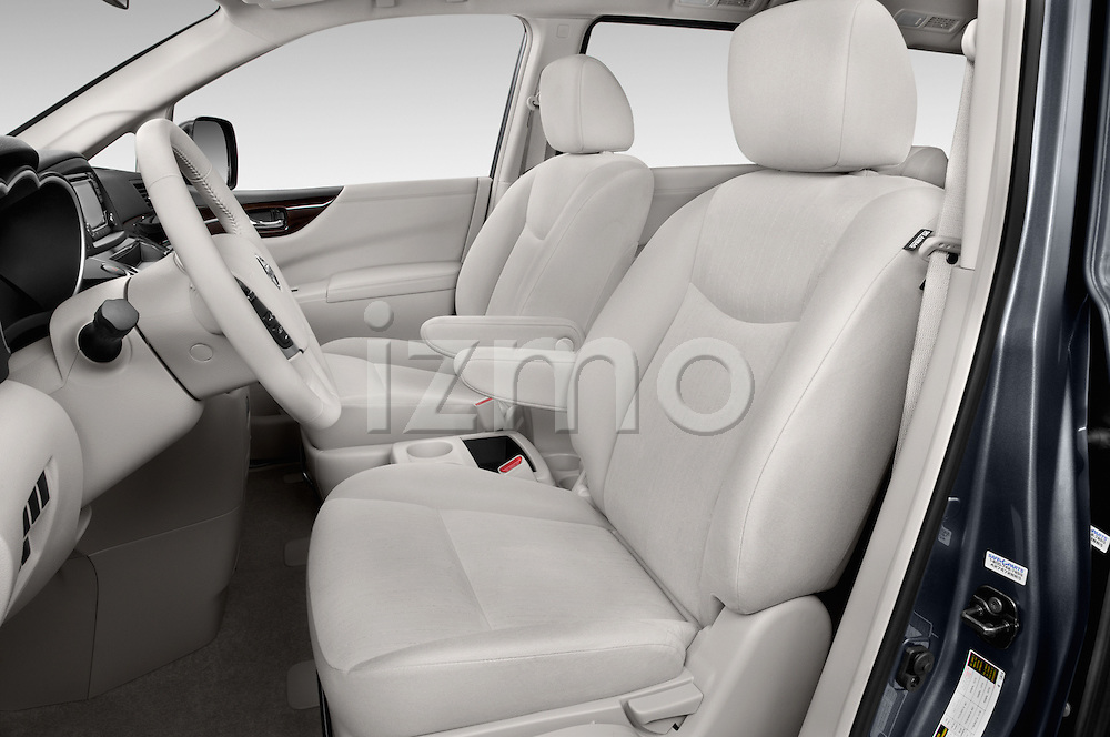 Front seat view of2015 Nissan Quest SV 5 Door Minivan Front Seat car photos