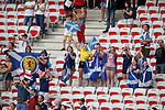 09.06.2019 England v Scotland Women: Scotland fans at full time