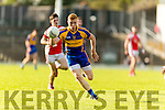 Teddy Doyle Kenmare in action against  Rathmore in the Senior County Football Semi Final in Fitzgerald Stadium on Sunday.