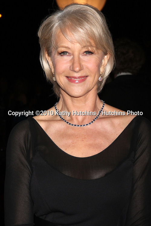 Helen Mirren.arriving at the 2010 Palm Springs Film Festival Awards Gala.Palm Springs Convention Center.January 5, 2010.©2010 Kathy Hutchins / Hutchins Photo.