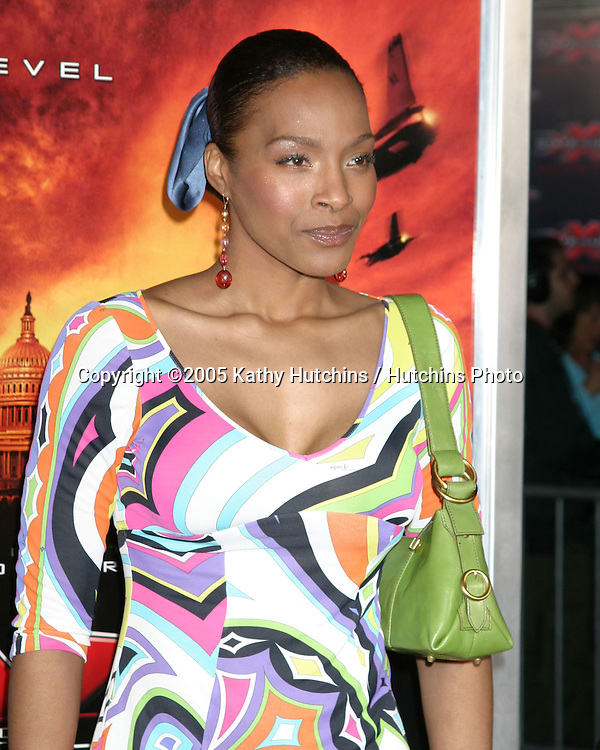 """.Premiere of """"XXX:  State of the Union"""".Westwood, CA.April 25, 2005.@2005 Kathy Hutchins / Hutchins Photo.Nona Gaye.Premiere of """"XXX:  State of the Union"""".Westwood, CA.April 25, 2005.@2005 Kathy Hutchins / Hutchins Photo."""