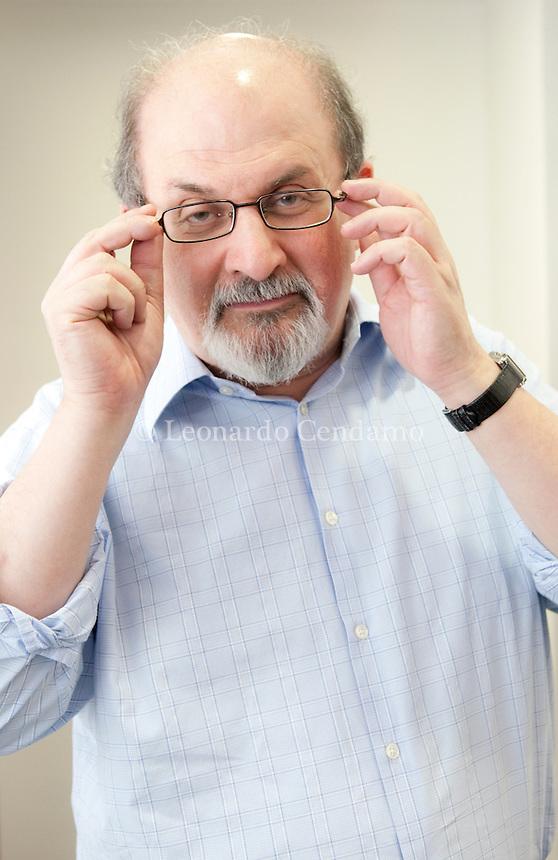 Salman Rushdie, writer, milanesiana 2010-  © Leonardo Cendamo