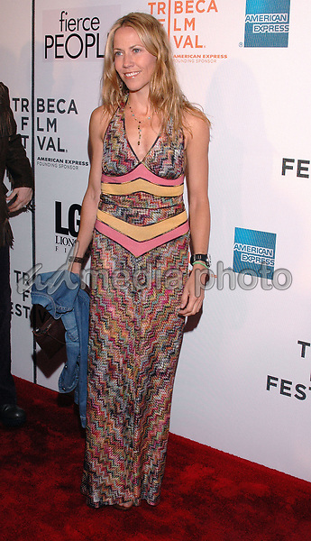 """24 April 2005 - New York, New York - Sheryl Crowe arrives at the premiere of the film , """"Fierce People"""", part of the Tribeca Film Festival in downtown Manhattan.  Photo Credit: Patti Ouderkirk/AdMedia"""