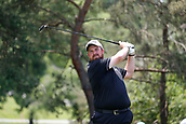 4th June 2017, Dublin, OH, USA;  Shane Lowery tees off on the second hole during the Memorial Tournament - Final Round at Muirfield Village Golf Club in Dublin, Ohio