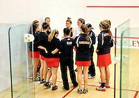 Wesleyan Squash 12/7/2012