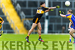Micheál Burns Dr Crokes in action against  Kenmare District in the Senior County Football Championship final at Fitzgerald Stadium on Sunday.