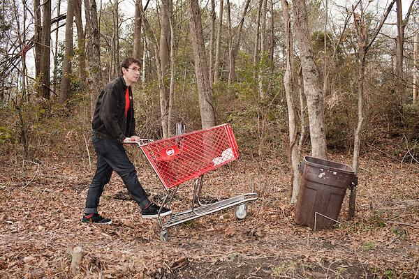 February 7, 2011. Durham, NC..John Darnielle of the Mountain Goats.