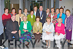Castleisland ICA members with the National president Annmaria Dennison at their centenary celebrations in the Castleisland Library on Tuesday front row l-r: Fr Michael Moynihan, Monica Prenderville, Annmaria Dennison National President, Noreen McEvoy Kerry President, Betty Walsh Castleisland President. Back row: Nellie Healy, Nora Mai O'Connell, Helen Pembroke, Breda O'Mahony, Eilie Curtin, Eileen O'Sullivan, Kerry Mayor Bobby O'Connell, Nora Nelligan, Noreen Bramberry, Sheila O'Brien, Betty Riordan and Mary Curtin