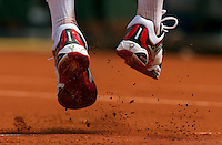 31-05-10, Tennis, France, Paris, Roland Garros, Shoes, gravel