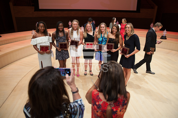 Stanford, CA - June 15, 2017: Stanford Athletics Board Awards Ceremony at Bing Concert Hall.