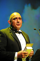 Datacom's Mark Muru. Wellington Gold Awards at TSB Bank Arena, Wellington, New Zealand on Thursday, 9 July 2015. Photo: Dave Lintott / lintottphoto.co.nz
