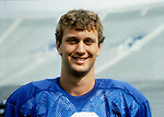 84Bosco-2229<br /> <br /> Football Photoday in uniform Robbie Bosco<br /> <br /> August 11, 1984<br /> <br /> Photo by Mark Philbrick/BYU<br /> <br /> Copyright BYU Photo 2009<br /> All Rights Reserved <br /> photo@byu.edu  (801)422-7322