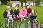 Abbeyfeale Boarding Kennells Dog Show; Pictured at the Dog Show held at the Abbeyfeale Boarding Kennells, Knocknasna on Sunday last were Dave Murphy, Leah Kiely, Chris & Daniel Murphy & Larissa McCarthy.