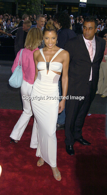 """Michael Michele ..at the US Premiere of """"War of the World"""" on June 23, 2005 at The Ziegfeld Theatre. ..Photo by Robin Platzer, Twin Images"""