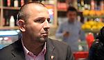 FUDBAL, BEOGRAD, 08. Dec. 2010. - Predsednik Crvene zvezde Vladan Lukic.  U Red cafe-u na zapadnoj strani Marakane  obelezavano je 19 godina od osvajanje titule sampiona sveta FK Crvena zvezda. Za tu priliku organizovanje je prigodan koktel koji je ujedno iskoriscen za promociju kalendara FK Crvena zvezda za 2011. godinu koji ce se odmah nakon promocije naci i u prodaji.. Foto: Nenad Negovanovic