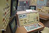 Raketenstart Kontrollpult / Missile launch control panel