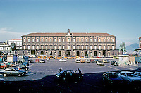 Italy: Naples--Royal Palace, c. 1600-1650; 1837. Design by Domenko Fontana. Photo '83.