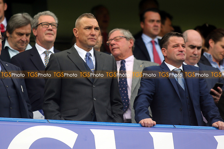 Vinnie Jones was in the crowd at Stamford Bridge - Chelsea vs Liverpool - Barclays Premier League Football at Stamford Bridge, London - 10/05/15 - MANDATORY CREDIT: Paul Dennis/TGSPHOTO - Self billing applies where appropriate - contact@tgsphoto.co.uk - NO UNPAID USE
