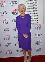 LOS ANGELES, CA. November 11, 2016: Actress Dame Helen Mirren at premiere of &quot;The Comedian&quot;, part of the AFI Fest 2016, at the Egyptian Theatre, Hollywood.<br /> Picture: Paul Smith/Featureflash/SilverHub 0208 004 5359/ 07711 972644 Editors@silverhubmedia.com