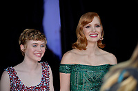 "LOS ANGELES, USA. August 27, 2019: Sophia Lillis & Jessica Chastain at the premiere of ""IT Chapter Two"" at the Regency Village Theatre.<br /> Picture: Paul Smith/Featureflash"