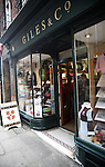 Giles and Co, official university clothing shop, Cambridge, England