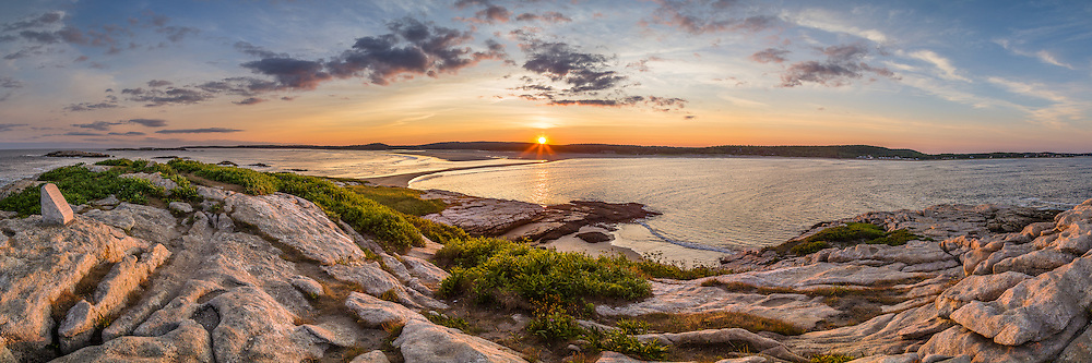 Popham Beach from Fox Island | Coast of Maine Photography by