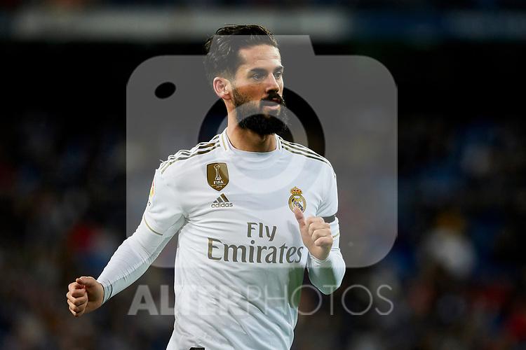 Francisco Alarcon 'Isco' of Real Madrid during La Liga match between Real Madrid and CD Leganes at Santiago Bernabeu Stadium in Madrid, Spain. October 30, 2019. (ALTERPHOTOS/A. Perez Meca)