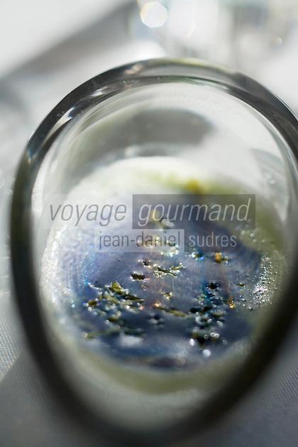 """Europe/France/Normandie/Haute-Normandie/76/Seine-Maritime/Le Havre:  Hareng Pomme à l'Huile revisité  Recette de  Jean-Luc Tartarin chef du Restaurant """"La Villa"""""""