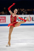 23rd March 2018, Milan, Italy; ISU World Figure Skating Championships  Milano 2018; Womens solo final shows Alina Zagitova