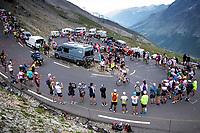 Polka Dots Jersey Tim Wellens (BEL/Lotto Soudal) up the Col du Galibier (HC/2622m/23km@5.1%)<br /> <br /> Stage 18: Embrun to Valloire (208km)<br /> 106th Tour de France 2019 (2.UWT)<br /> <br /> ©kramon