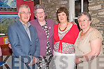 Pictured at the O'Sullivan reunion held in Kate Kearneys cottage Beaufort on Saturday night were Sean O'Suilleabhain, Eileen Cronin, Ann Doherty and Nuala Spillane...