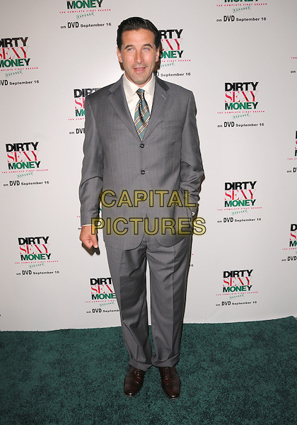 "WILLIAM BALDWIN.""Dirty Sexy Money"" Season One DVD Premiere held at The Edison Downtown in Los Angeles, California, USA..September 8th, 2008.full length grey gray suit hand in pocket                                .CAP/DVS.©Debbie VanStory/Capital Pictures."