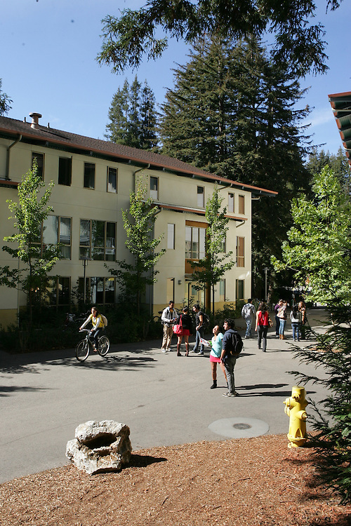 October 20, 2008; Santa Cruz, CA, USA; General view of Cowell College on the campus of UC Santa Cruz. Photo by: Phillip Carter