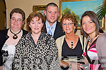 Taking time out for a picture at the Nano Nagle social in the Listowel Arms Hotel on Friday night were Margaret Kennelly, Kathleen McDonnell, Tom Groarke, Mary McDaid and Suzanne Groarke..   Copyright Kerry's Eye 2008