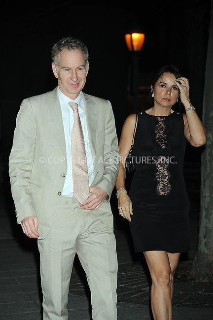 WWW.ACEPIXS.COM . . . . . ....April 21 2009, New York City....John McEnroe and wife Patty Smyth arriving at the Vanity Fair party for the 2009 Tribeca Film Festival at the State Supreme Courthouse on April 21, 2009 in New York City.....Please byline: KRISTIN CALLAHAN - ACEPIXS.COM.. . . . . . ..Ace Pictures, Inc:  ..tel: (212) 243 8787 or (646) 769 0430..e-mail: info@acepixs.com..web: http://www.acepixs.com