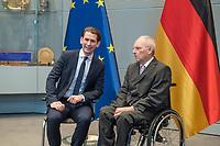 2018/01/17 Politik | Östereichischer Bundeskanzler bei Bundestagspräsident