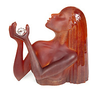 BNPS.co.uk (01202 558833)<br /> Pic: Juliens/BNPS<br /> <br /> Dan Dailey sculpture - Est £6,000.<br /> <br /> A spectacular collection of over 1,000 items charting Elizabeth Taylor's life including her iconic outfits are up for sale for over £1million. ($1.25million)<br /> <br /> Dozens of designer gowns, fur coats and capes are being auctioned by the trustees of the estate of the late English actress.<br /> <br /> Also going under the hammer are the Hollywood icon's stylish wigs, scarves, shoes and jewellery.<br /> <br /> Items of her lavish furniture from her luxury homes across the world, right down to her personalised salt and pepper shaker, are included.