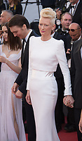 Tilda Swinton at the premiere for &quot;Okja&quot; at the 70th Festival de Cannes, Cannes, France. 19 May  2017<br /> Picture: Paul Smith/Featureflash/SilverHub 0208 004 5359 sales@silverhubmedia.com