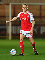 Fleetwood Town's Harvey Rodgers<br /> <br /> Photographer Dave Howarth/CameraSport<br /> <br /> EFL Checkatrade Trophy - Northern Section Group A - Fleetwood Town v Morecambe - Tuesday 3rd October 2017 - Highbury Stadium - Fleetwood<br />  <br /> World Copyright &copy; 2018 CameraSport. All rights reserved. 43 Linden Ave. Countesthorpe. Leicester. England. LE8 5PG - Tel: +44 (0) 116 277 4147 - admin@camerasport.com - www.camerasport.com