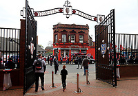 A general view of Anfield, home of Liverpool as fans arrive ahead of kick-off<br /> <br /> Photographer Rich Linley/CameraSport<br /> <br /> UEFA Champions League Semi-Final 2nd Leg - Liverpool v Barcelona - Tuesday May 7th 2019 - Anfield - Liverpool<br />  <br /> World Copyright © 2018 CameraSport. All rights reserved. 43 Linden Ave. Countesthorpe. Leicester. England. LE8 5PG - Tel: +44 (0) 116 277 4147 - admin@camerasport.com - www.camerasport.com