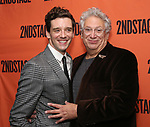 Michael Urie and Harvey Fierstein attends the Off-Broadway Opening Night After Party for the Second Stage Production on 'Torch Song' on October 19, 2017 at Copacabana in New York City.