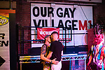 © Joel Goodman - 07973 332324 - all rights reserved . 26/08/2019. Manchester, UK. Revellers at Manchester's annual Pride celebration on a night out around Manchester's Gay Village . Photo credit : Joel Goodman